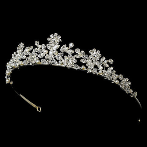 * Sunflower Bridal Wedding Tiara HP 7097