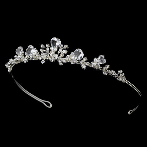 * Sweetheart Bridal Wedding Tiara HP 7806