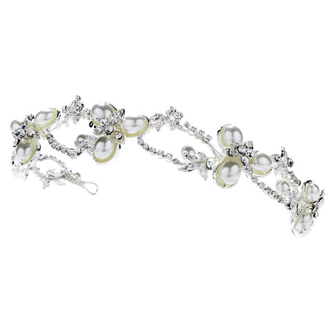 Vintage Pearl Bridal Wedding Headband HP 7808