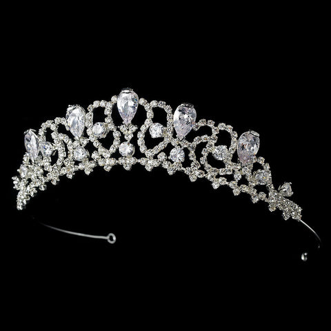 * Teardrop Bridal Wedding Tiara HP 8108