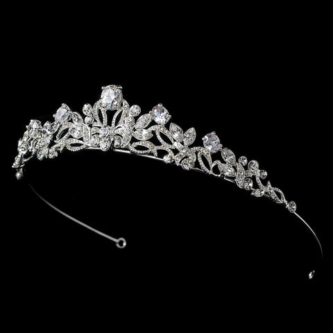 * Beautiful Bridal Wedding Tiara HP 8114