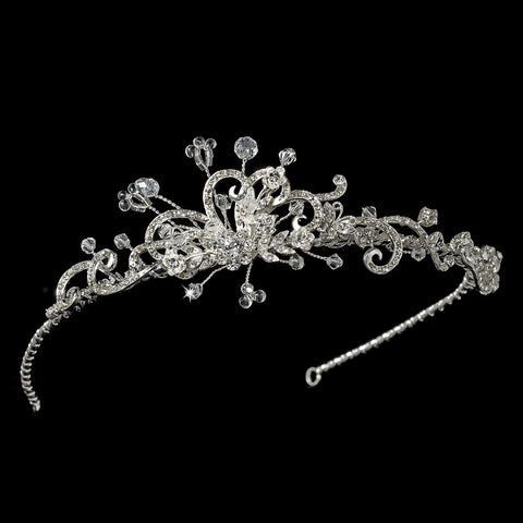 * Bridal Wedding Headband with Side Accent HP 8231