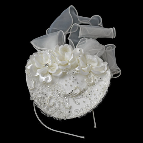 Elegant Russian Head Dress Bridal Wedding Hat Bridal Wedding Headband Bridal Wedding Hair Cap 9670