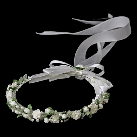 Kate Middleton Flower Girl Wreath Headpiece 3500