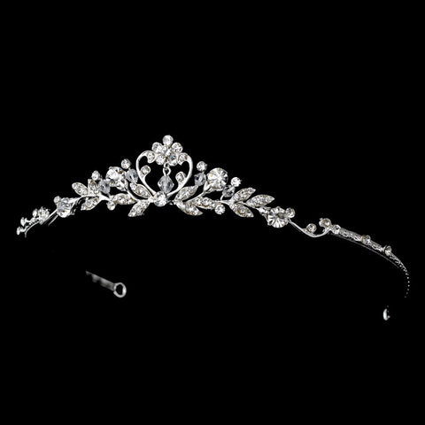 Silver Children's Bridal Wedding Tiara 6452