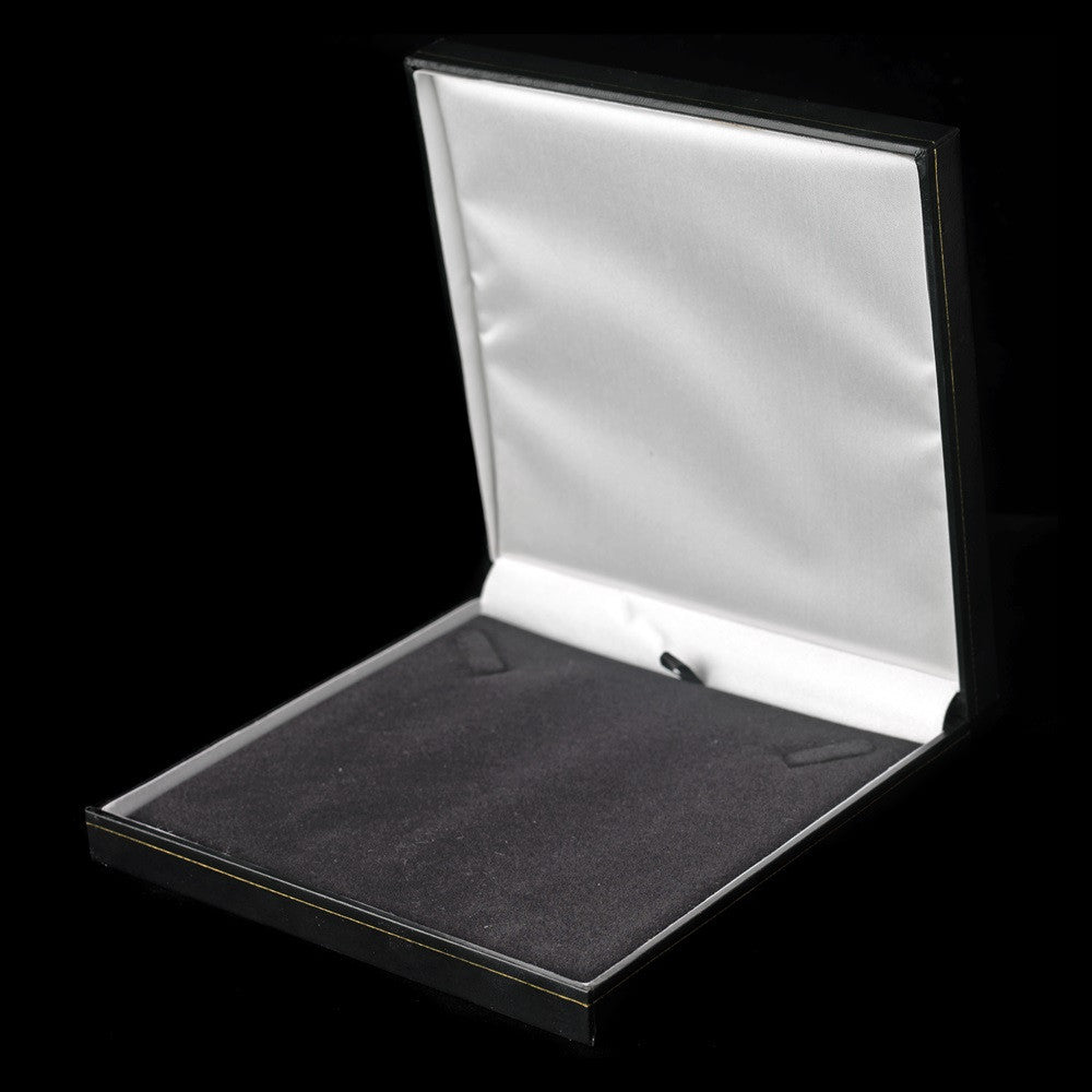 Black Leatherette Jewelry Box 10