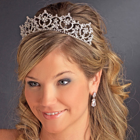 * Crystal Bridal Wedding Headpiece Bridal Wedding Tiara HP 13091