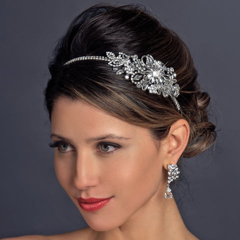 Vintage Side Bridal Wedding Headpiece Bridal Wedding Headband HP 613