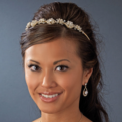 Vintage Bridal Wedding Headpiece HP 8146 Gold or Silver