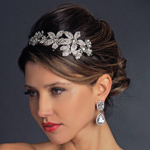 Silver Clear Headpiece 9931