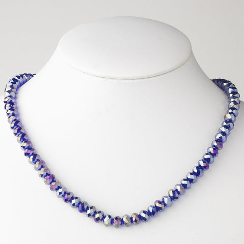 Violet Bridal Wedding Necklace 7615