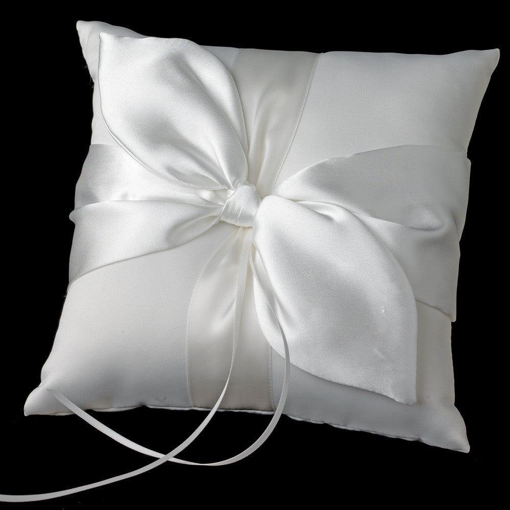 Bridal Wedding Love Knot Bridal Wedding Ring Bearer Pillow RP 17