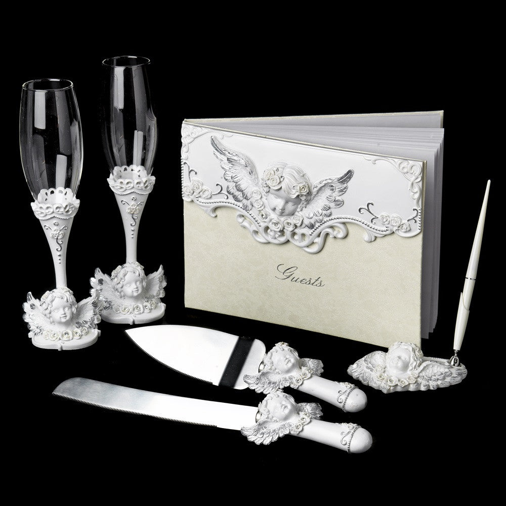 Angel Complete Matching Reception Accessory Set