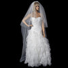 Bridal Wedding Double Layer Elbow & Cathedral Length Bridal Wedding Veil 151
