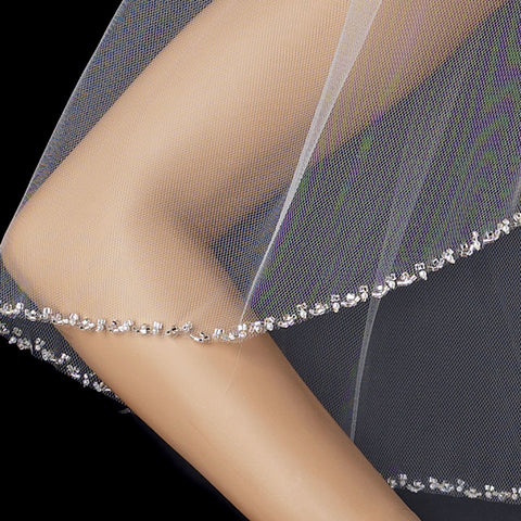 Bridal Wedding Veil 1541 - 1E Single Layer - Elbow Length (30