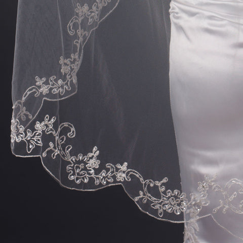 Bridal Wedding Veil (42