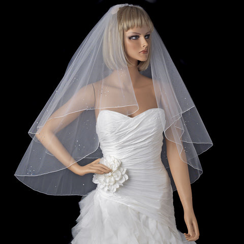 Bridal Wedding Veil 720 White or Ivory