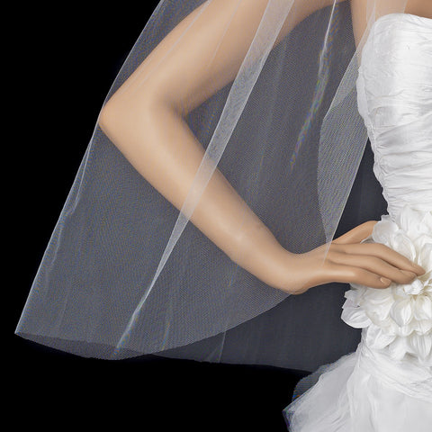 Bridal Wedding Cut Edge Bridal Wedding Veil VC