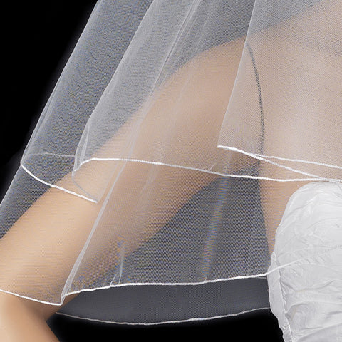Bridal Wedding Pencil Edge Bridal Wedding Veil VP