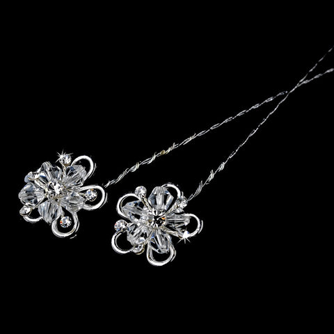Crystal Flower Bridal Wedding Bouquet Jewelry BQ-213