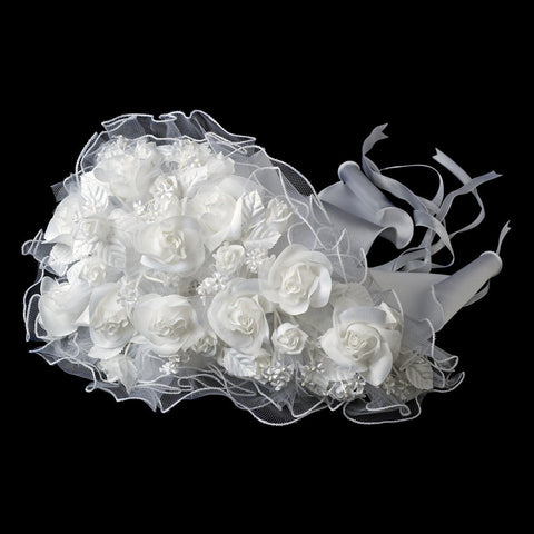 Graceful Artificial Bridal Wedding Bouquet 242
