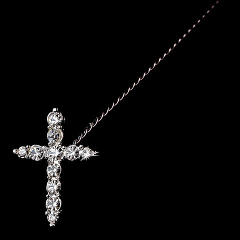 Faith Bridal Wedding Bouquet Jewelry BQ Cross 292