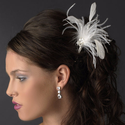 * Elegant White Pin 116