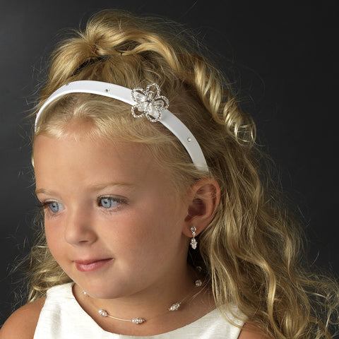 Child's Floral Bridal Wedding Headband HPC 2901