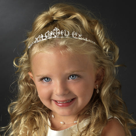 * Silver HPC 604 Child's Bridal Wedding Tiara