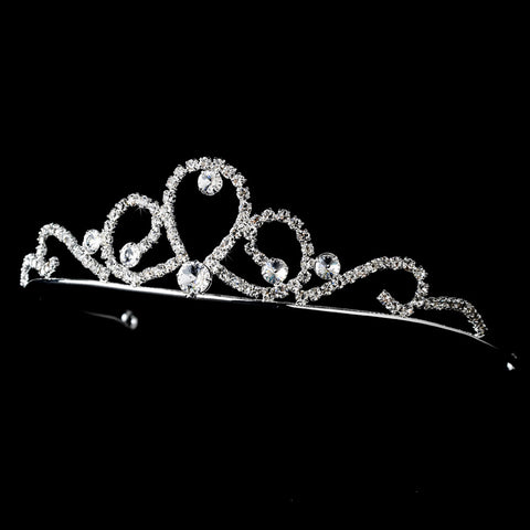 Silver Child's Bridal Wedding Tiara HP C 783