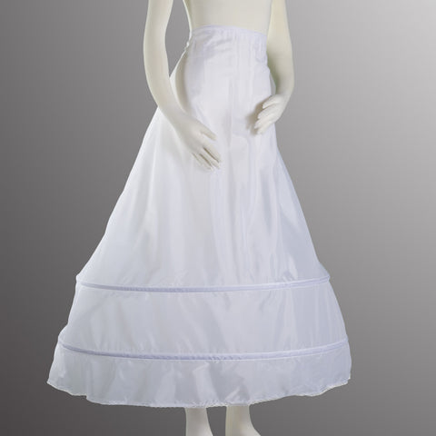 Two Bone Hoop Drawstring Petticoat PC 100 Hoop