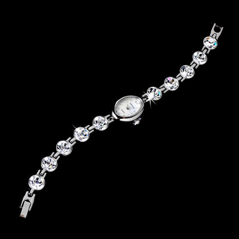 Rhinestone Crystal Bridal Wedding Watch 13