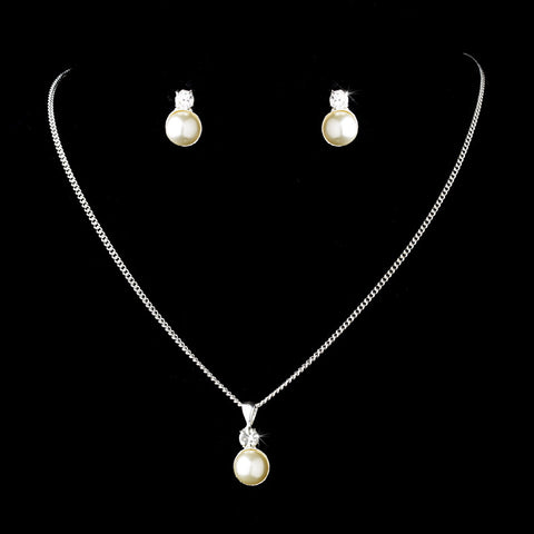Bridal Wedding Pearl Jewelry Set 113