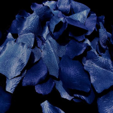 100/500 Royal Blue Artificial Bridal Wedding & Formal Silk Rose Petals