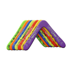 Cosmic Right Handed Plastic Boomerang Assorted