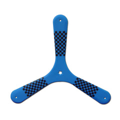 Speed Racer Plastic Boomerang Blue