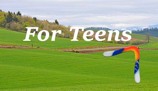 Boomerangs for Teens