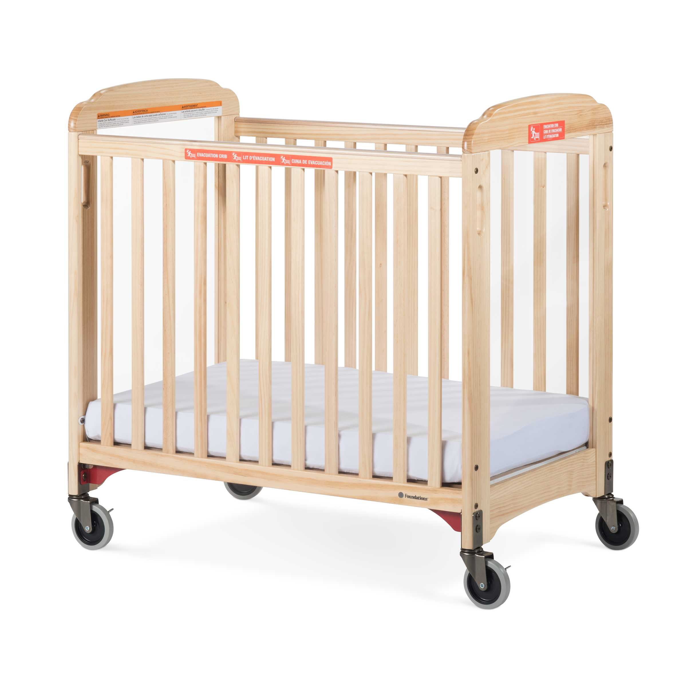 natural ber finish crib convertible conversion rustic kit in bertini pembrooke