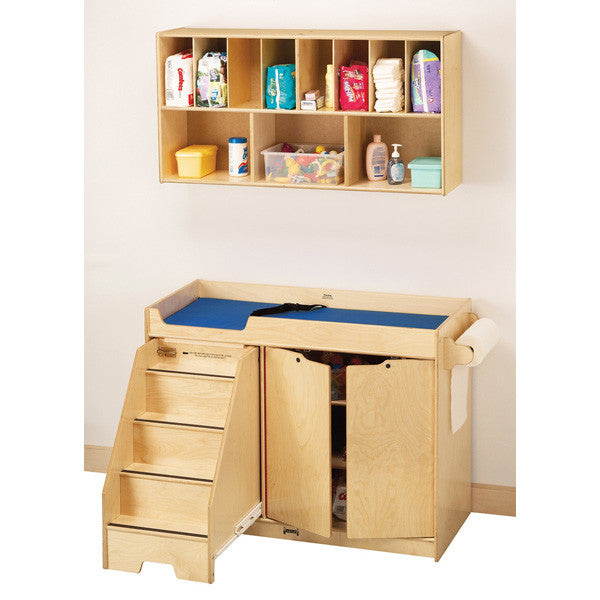 1287 Jonti Craft 168 Changing Table W Stairs Combo Left
