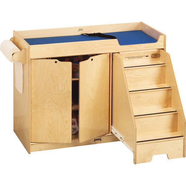 1288 Jonti Craft 168 Changing Table W Stairs Right