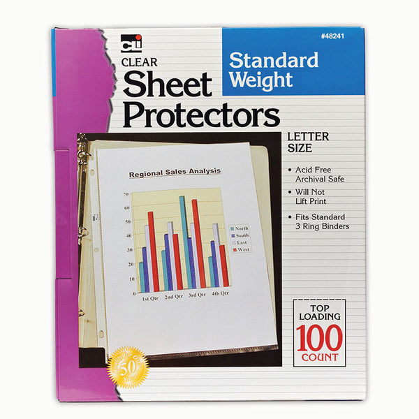 Supplies.Sheet Protectors