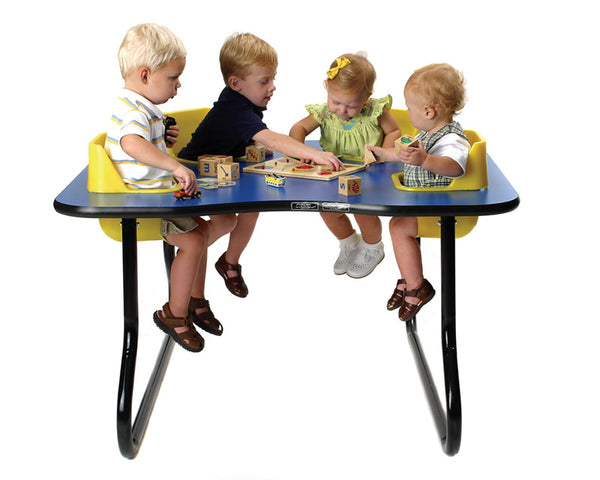 39151 The Original Toddler Table 4 Seat Space Saver Table