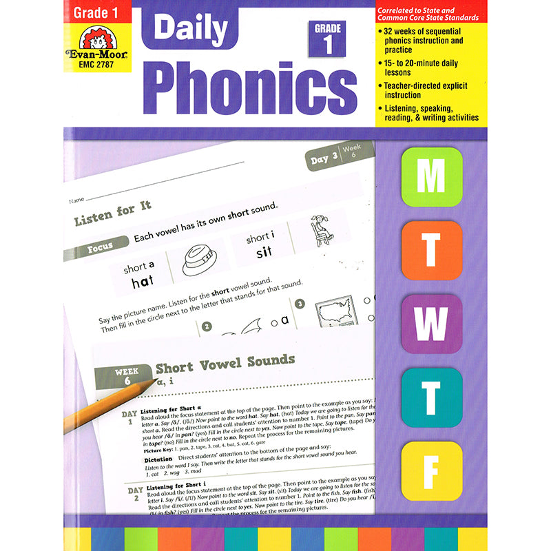 16846 Daily Phonics Practice Gr 1 Factory Select