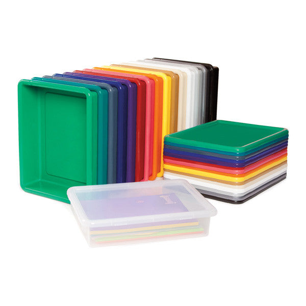 384 Jonti Craft 24 Paper Tray Cubbie With Clear Paper