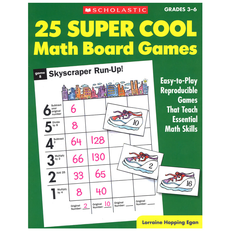 30745 25 Super Cool Math Board Games Factory Select