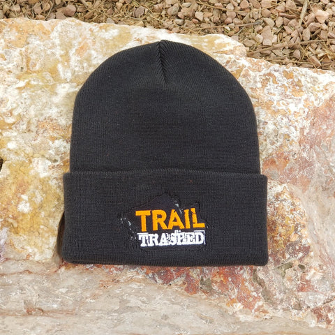Trail Trashed knit caps