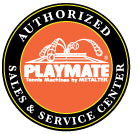 We are Playmate Authorized for Sales and Service
