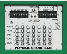 Close up of the GrandSlam's control box.