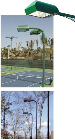 Tennis Optics Lighting Systems for Tennis Courts