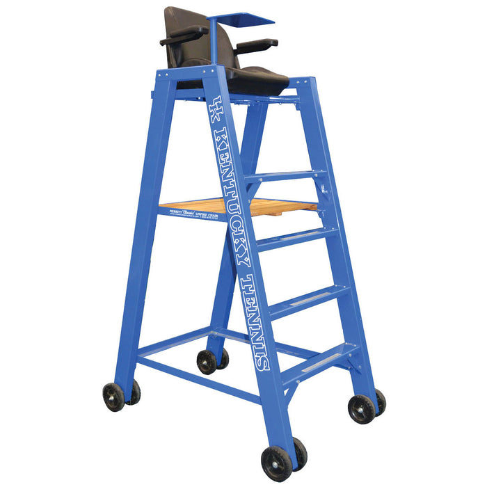 The Pro Classic Tennis Umpire Chair. Customized for the Kentucky Wildcats.